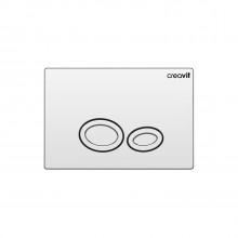 Кнопка для инсталляции Creavit DROP GP2002.00 хром глянец