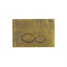 Кнопка для инсталляции Creavit DROP GP2007.00 бронза