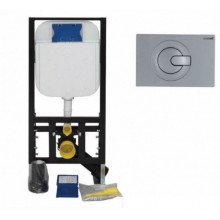 Система инсталляции Creavit GR5003 + кнопка GR5003+GP5003