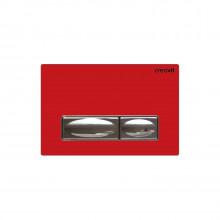 Кнопка для инсталляции Creavit GP4003.00 красная